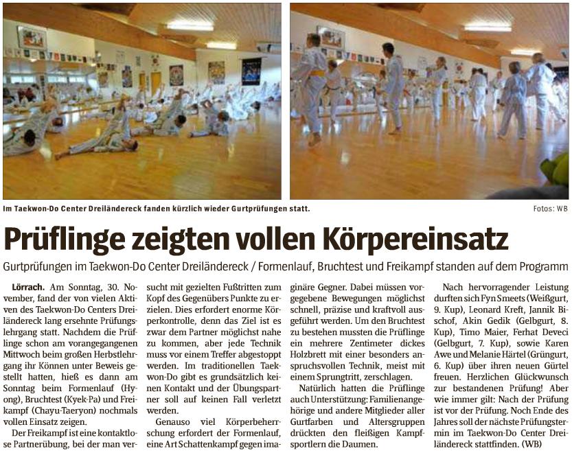 Wochenblatt Lörrach 22-12-2014